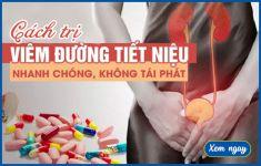 Cách trị viêm đường tiết niệu